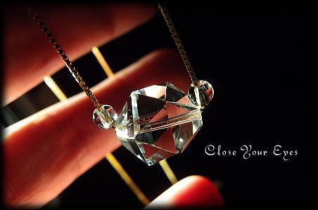 ハイパージュエリーネックレス 水晶 正二十面体 画像2