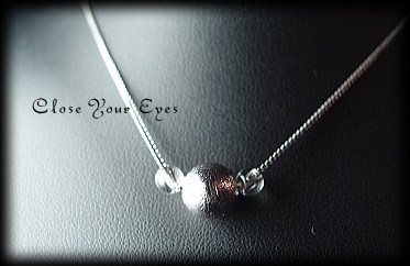 ハイパージュエリーネックレス アイアンメテオライト(鉄隕石) ムオニオナルスタ隕石
