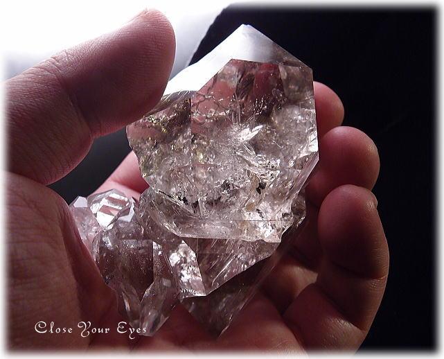 レアな石達 BIGハーキマーダイヤモンド 画像3