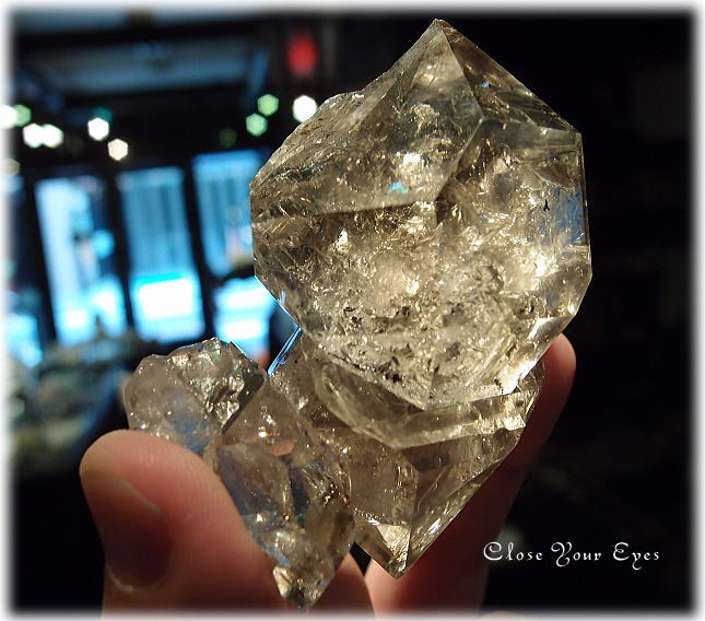 レアな石達 BIGハーキマーダイヤモンド 画像6